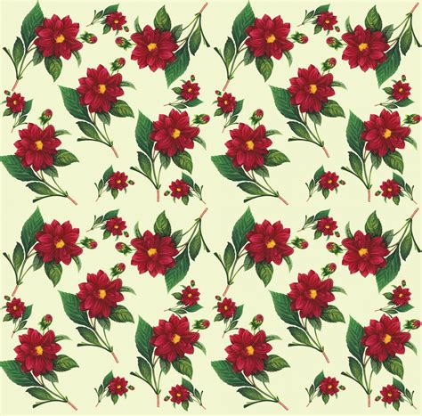 seamless pattern flower floral wallpaper seamless pattern free stock photo