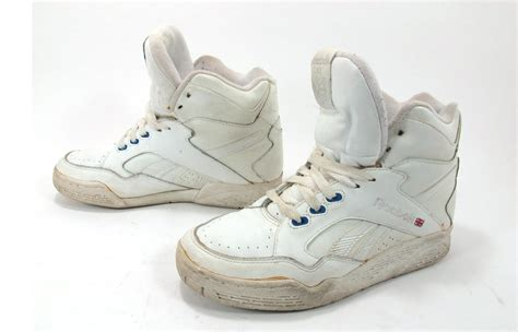 vintage high top sneakers vintage 1980s reebok high top sneakers trainers size 6 5