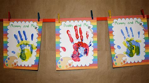 arts and crafts ideas for birthday activities handprint birthday for