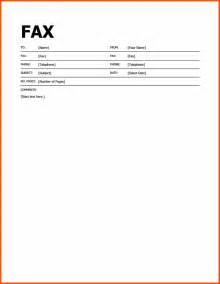 Template For Fax by Fax Template In Word Printable Fax Cover Letter Template