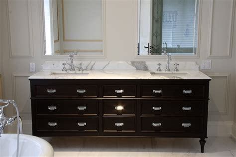 double vanity ideas transitional bathroom designer