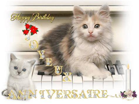 b01io48y42 un anniversaire au poil carte anniversaire musicale avec chat