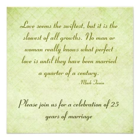 35th Wedding Anniversary Card Quotes by 25 Best 25th Anniversary Quotes On 25th