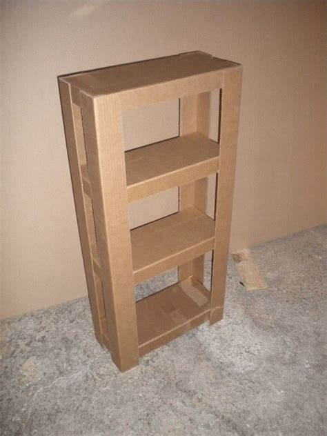 Schrank Aus Pappe Basteln by Easy Cardboard Shelves Diy Cardboard Tutorials And Shelves