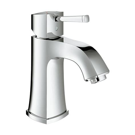 grohe bathroom sink faucets grohe grandera single hole single handle 1 2 gpm bathroom