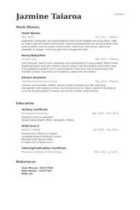 Resume Template Youth Youth Worker Resume Sles Visualcv Resume Sles Database