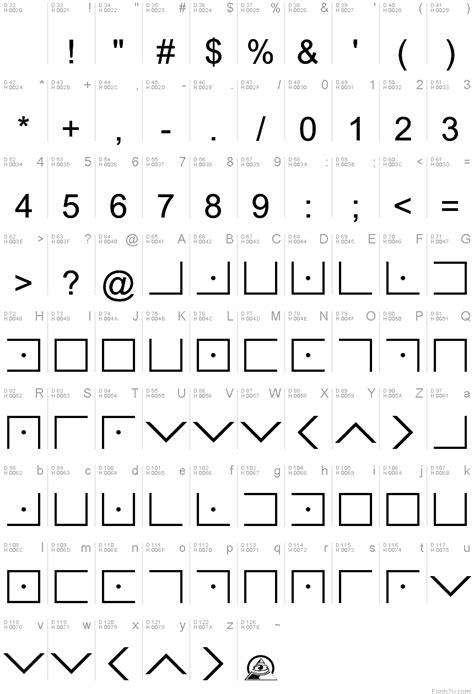 illuminati font illuminati masonic cipher font