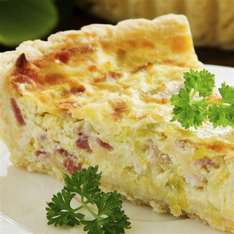 Quiche Lorraine Pie Large quiche lorraine recipe