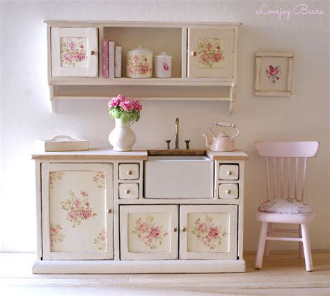 Shabby Chic Kitchen Furniture | shabby chic kitchen cabinets marceladick com