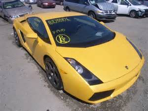 Damaged Lamborghini For Sale Salvage Lamborghini All Models 5 0l 10 2004 Sacramento