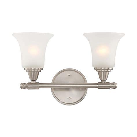 bathroom lighting brushed nickel finish modern bathroom light with white glass in brushed nickel