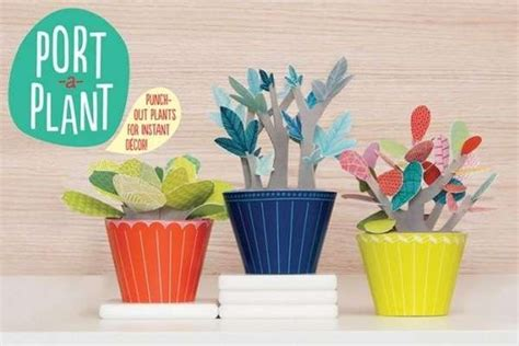How To Make Paper Bushes - pop up paper plants paper plants
