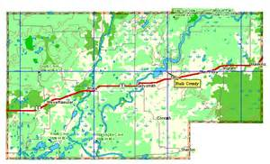 rusk county map