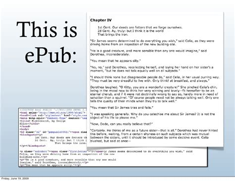 epub format is for epub the open ebook format