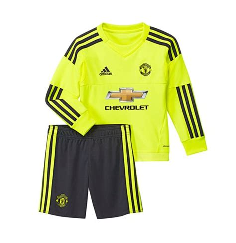 Jersey Manchester United Away Goal Keeper 2014 2015 2015 2016 utd adidas away goalkeeper boys mini kit for only 163 33 29 at