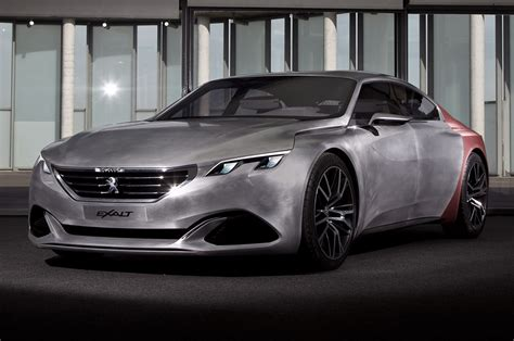 peugeot exalt peugeot exalt concept revealed plus exclusive studio
