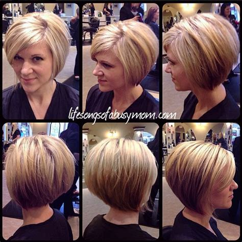 asymmetrical stacked bob life songs of a busy mom how i style my inverted or