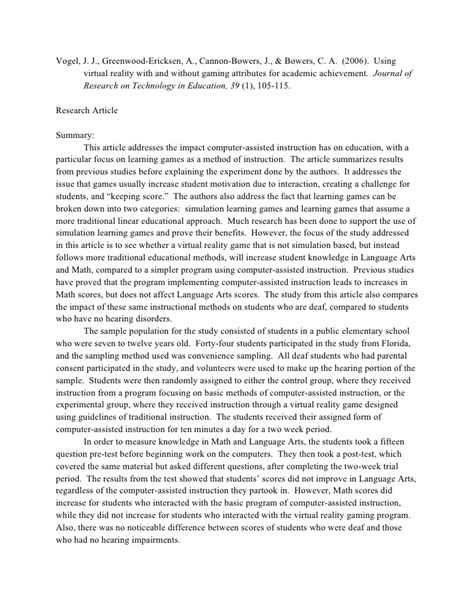 critique template for research articles wingate article critique summary