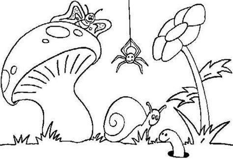 dibujos para pintar en guardapolvo de egresados jardin dibujo de animales en el jardin