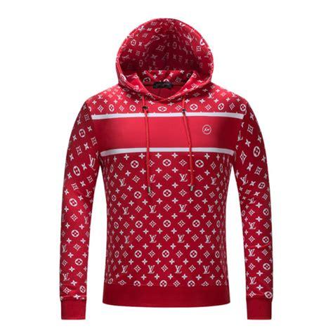 Supreme Lv Sweater supreme x lv logo sweatshirt hooded cheap replica 2018