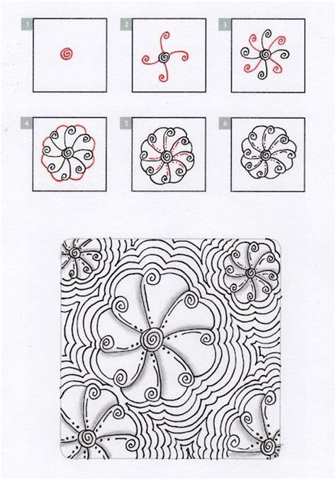 tutorial doodle name 2440 best images about zentangle for beginners on