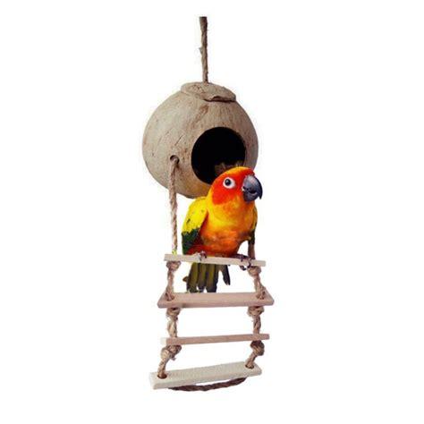 macaw swing wood climbing ladder pet bird ladder macaw cockatiel