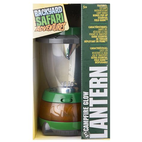 backyard safari lantern backyard safari cfire glow lantern alexbrands com