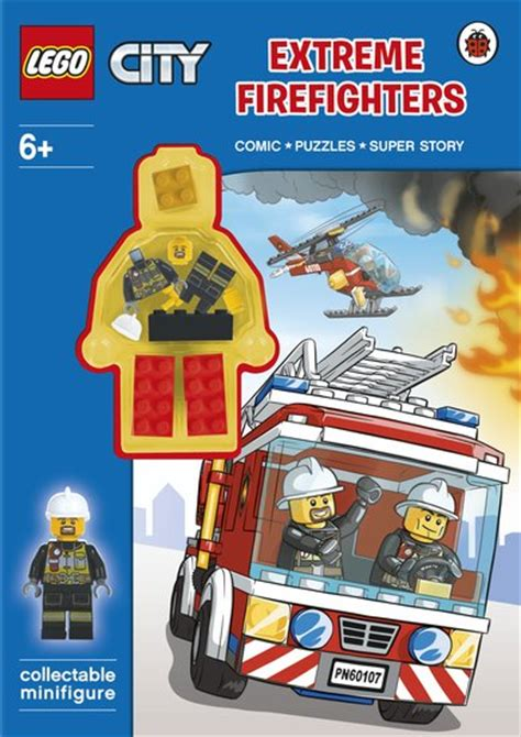 capitol city fireman books lego 174 city firefighters activity book