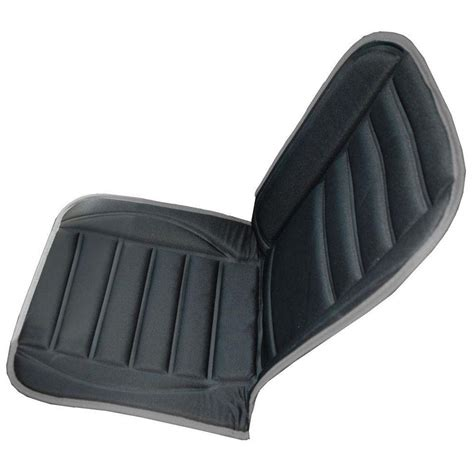 car seat cusions geared up heated car seat cushion h hc 100 the home depot