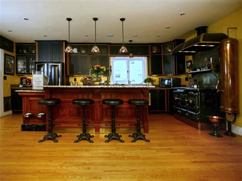 steam punk home decor kitchen decor ideas steunk kitchen house interior