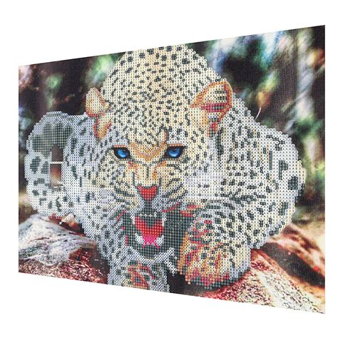 Painting Cross Stitch 7 30x40cm 5d painting leopard embroidery cross stitch home decor alex nld