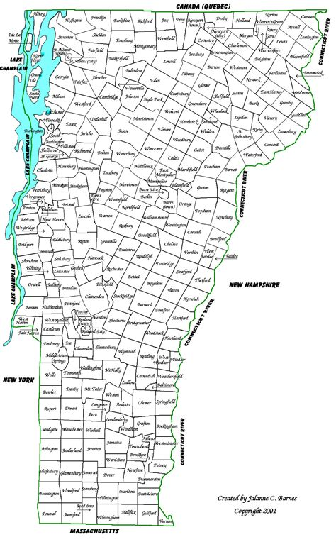 map of towns maps