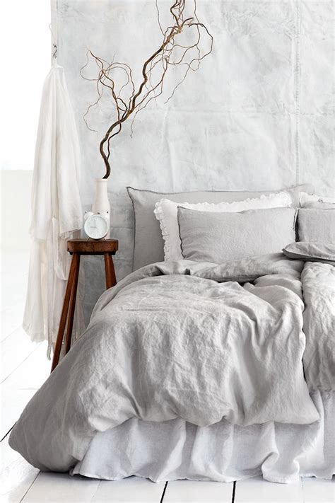grey linen bedding 25 best ideas about gray bedding on pinterest classic spare bedroom furniture