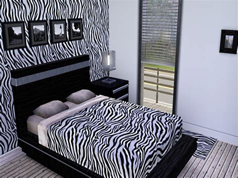 animal print bedroom wallpaper zebra print wall decor for modern homes
