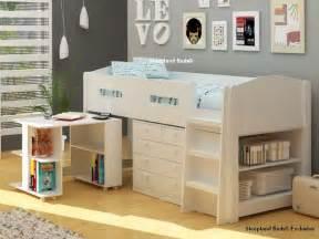 mayfair white mid sleeper bed white midsleeper bed desk