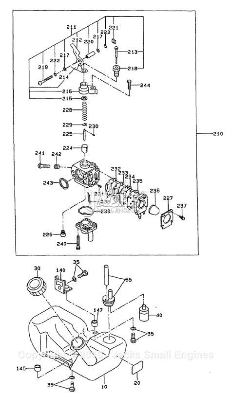 robinsubaru ec parts diagram  fuel tankcarburetor