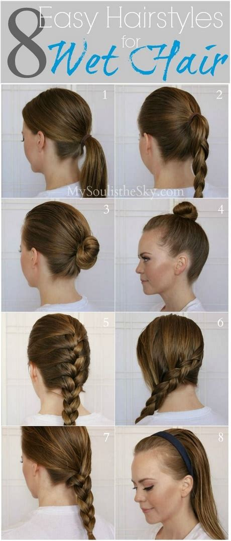 Fast Hairstyles by Easy And Fast Hairstyles For Hair