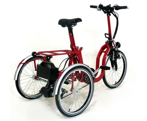 Di Blasis Motorized Folding Tricycle by Di Blasi R34 Electric Folding Trike