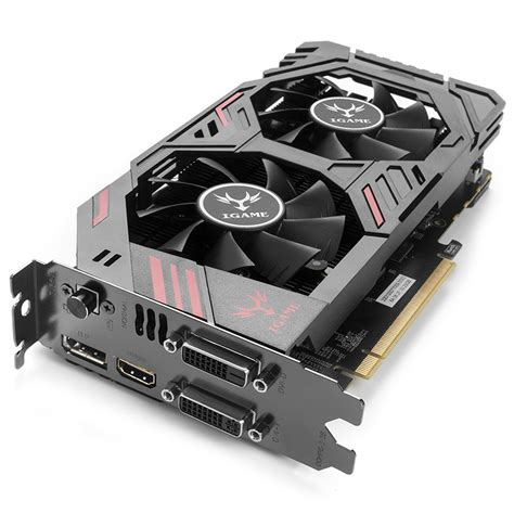 Murah Igame Geforce Gtx 1050 2gb Ddr5 U 2g Dual Fan One Key Oc colorful igame graphic card igame950 2gd5 ymir u gamer