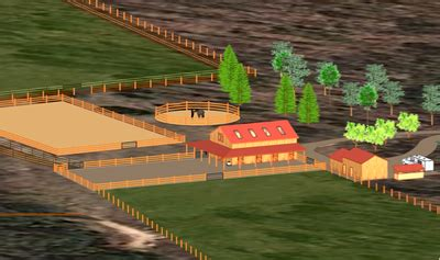 Best Practices - Sustainable Stables | Property site plans ... 1 Acre Horse Farm Layout