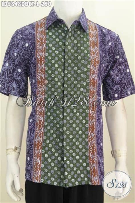 Kain Batik Dolby sedia baju batik cowok terkini berbahan halus kain dolby pakaian batik kerja motif kombinasi
