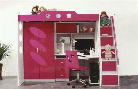 double deck bed  study table   bunk bed