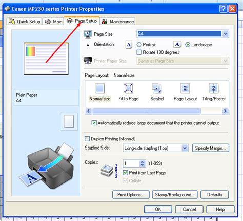 Printer Canon Untuk Kertas F4 lukisan jemari print ms exel menggunakan kertas f4 folio