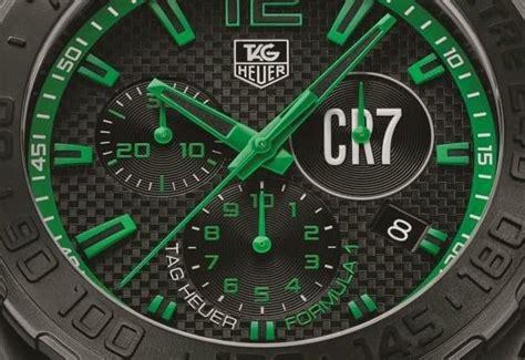 Tag Heuer F1 Cr 7 Edition Black Steel Yellow Tag Heuer Formula 1 Cristiano Ronaldo Chronograph