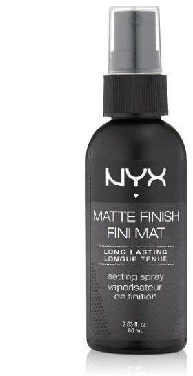 Nyx Setting Spray nyx cosmetics make up setting spray matte finish