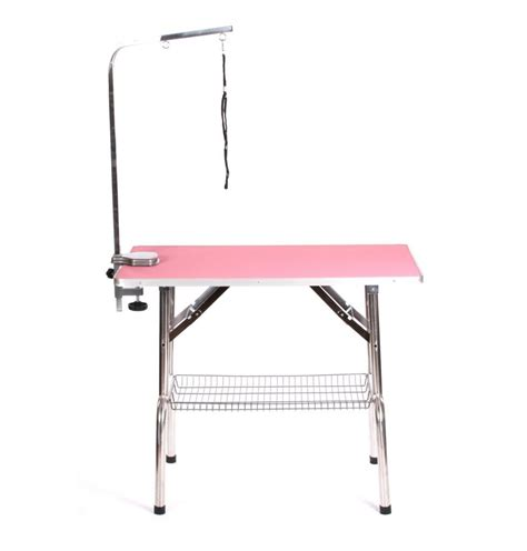 portable grooming table pedigroom large stainless steel mobile portable cat