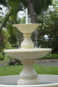 bird bath fountain poppys stuff pinterest