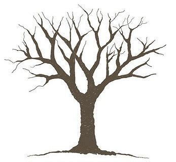 Bare Tree Template Cliparts Co Free Tree Template