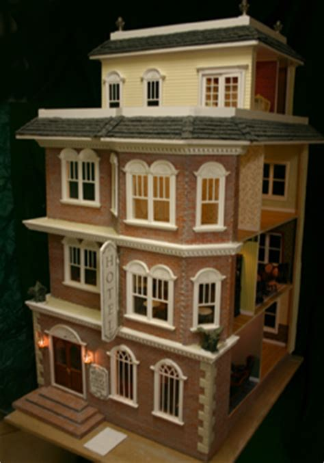 miniature doll house kits majestic mansions darlington dollhouse kit 1 12 scale