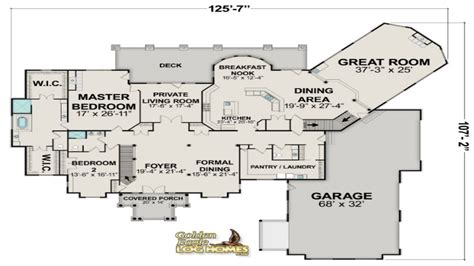 Floor Plans For Large Homes Cottage House Plan Floor Plan Large | luxury log homes large log cabin home floor plans eagle